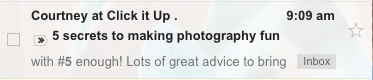 writing subject lines