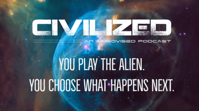 Landing page for Civilized Podcast
