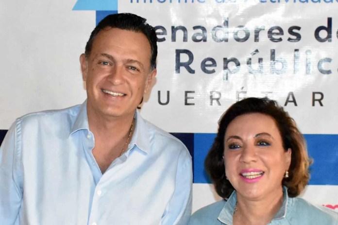 Mauricio Kuri y Lupita Murguía informarán a Queretanos resultados de sus acciones en el Senado