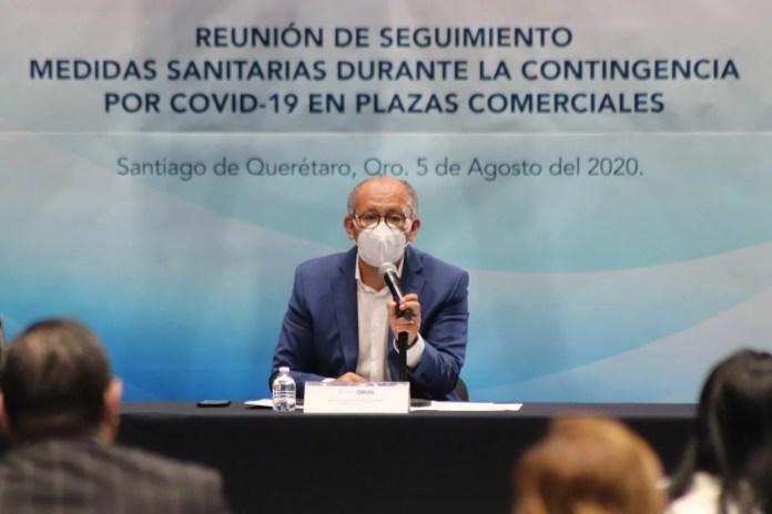 Llaman a Plazas Comerciales de Querétaro a reforzar medidas de salubridad