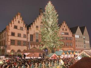 フランクフルトクリスマスマーケット1