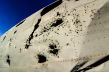 DC-3 - Löcher in der Außenhaut