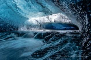 Unterirdischer Wasserfall