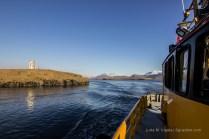 Im Rücken: die Hafeneinfahrt