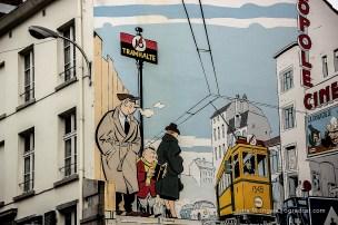 Streetart XL in Brüssel