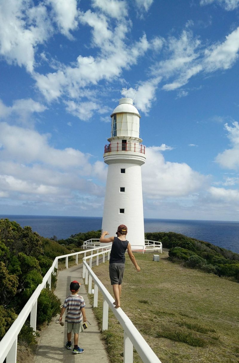 Great Ocean Road selber fahren - Highlight Great Otway Lighthouse