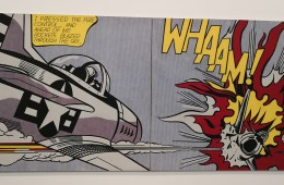 Roy Liechtenstein im Tate Modern in London
