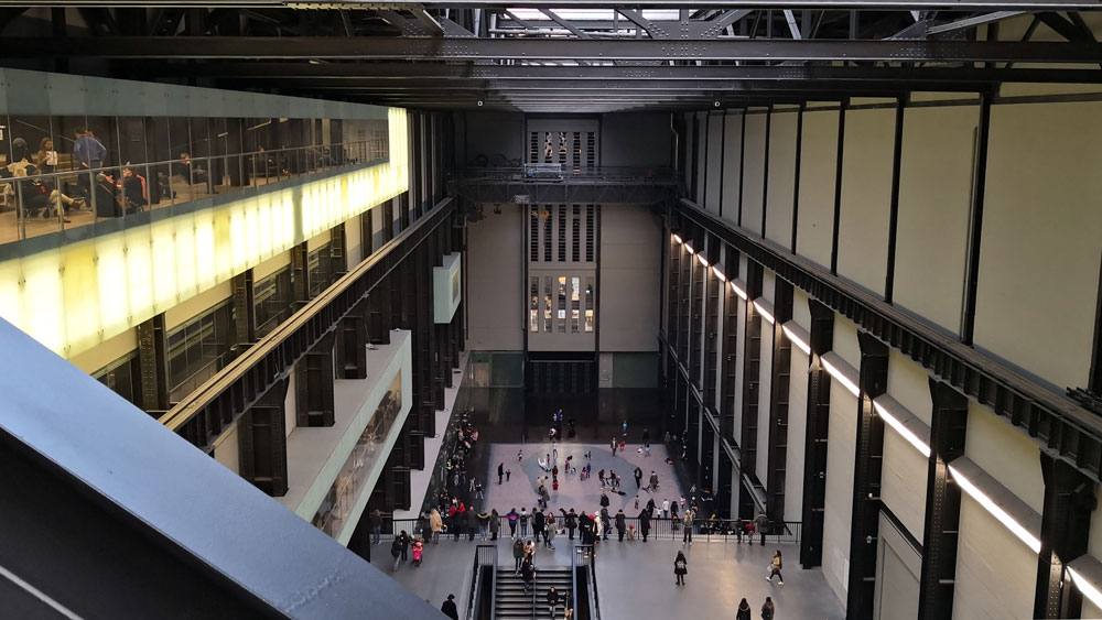 Museen in London - das Tate Modern innen