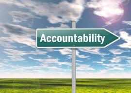 "Signpost ""Accountability"""