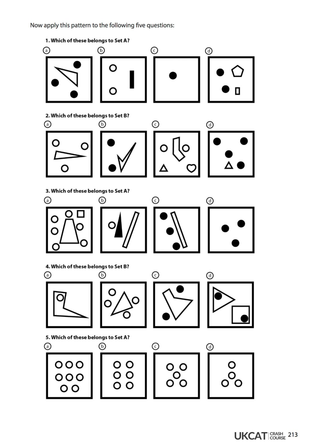 6med UCAT Crash Course Workbook - Abstract Reasoning