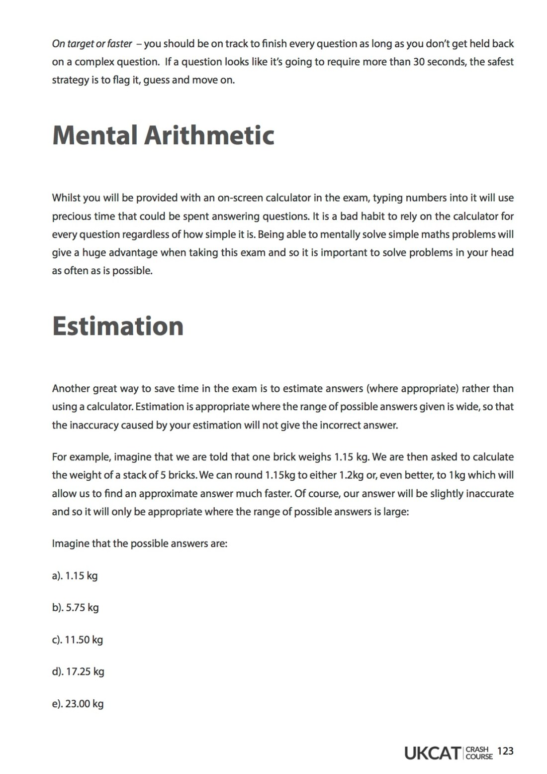 6med UCAT Crash Course Workbook - Quantitative Reasoning