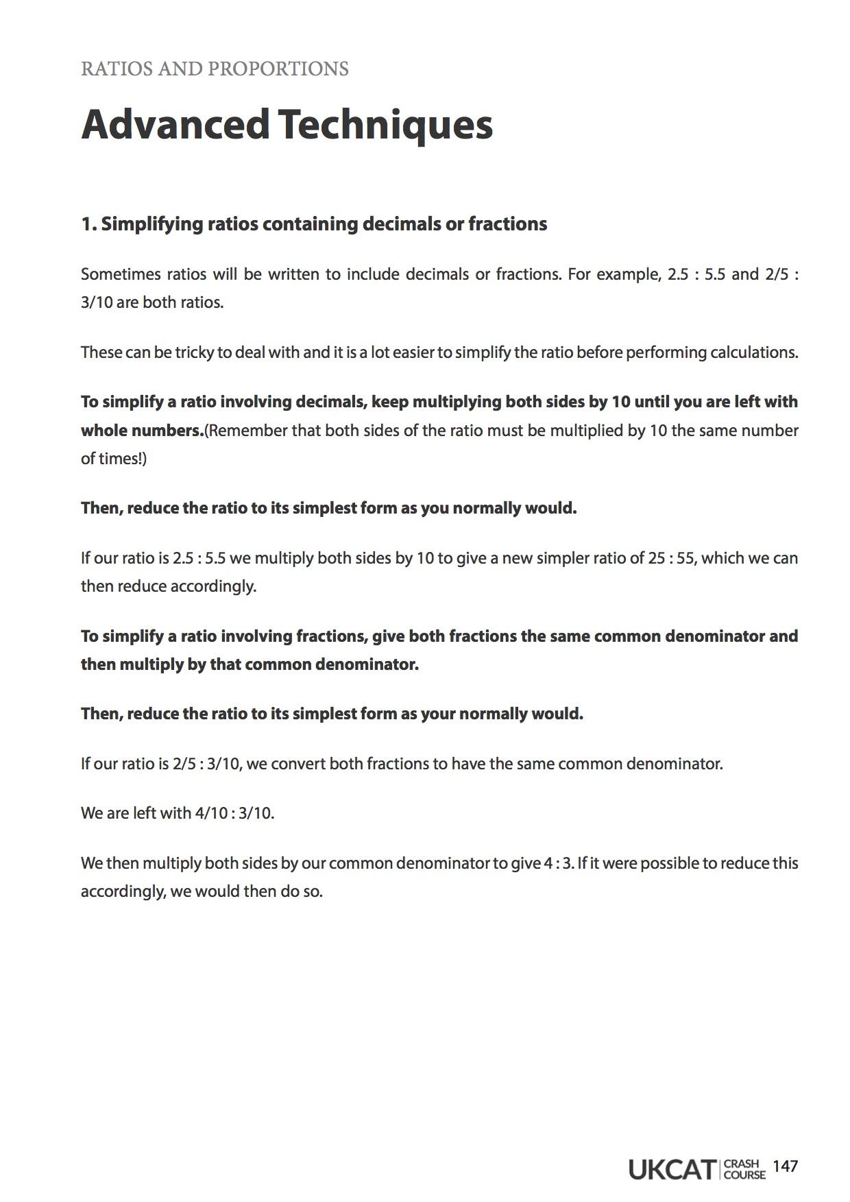 UKCAT Crash Course - Notes, Materials, Workbook | 6med