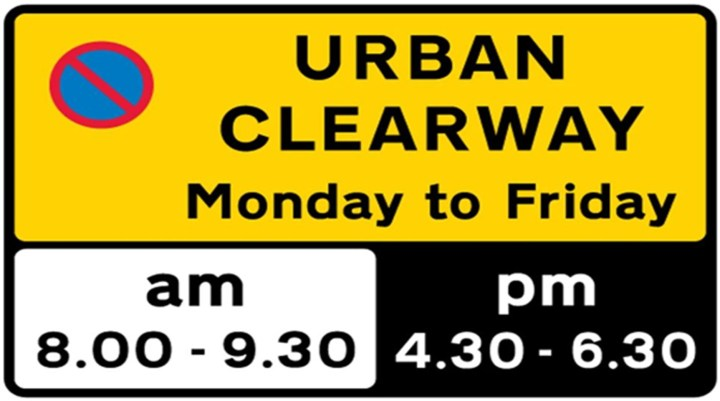 what is a urban clearway
