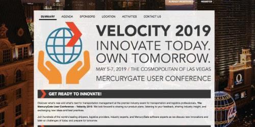 Velocity 2019 MercuryGate User Conference