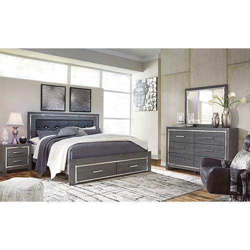 signature design by ashley lodanna 6 piece king bedroom set