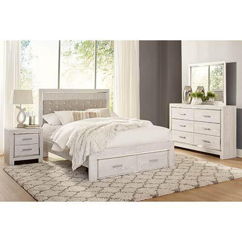 signature design by ashley altyra 6 piece king bedroom set