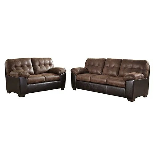 Signature Design By Ashley Gillham Coffee Sofa And Loveseat