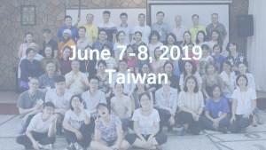 June 7-8, 2019 Taiwan