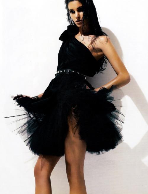 ru_glamour: Marija Vujovic by David Oldham for Vogue Latin America November 2009