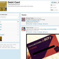 Posting a photo of your credit card(s) on Twitter? Really?