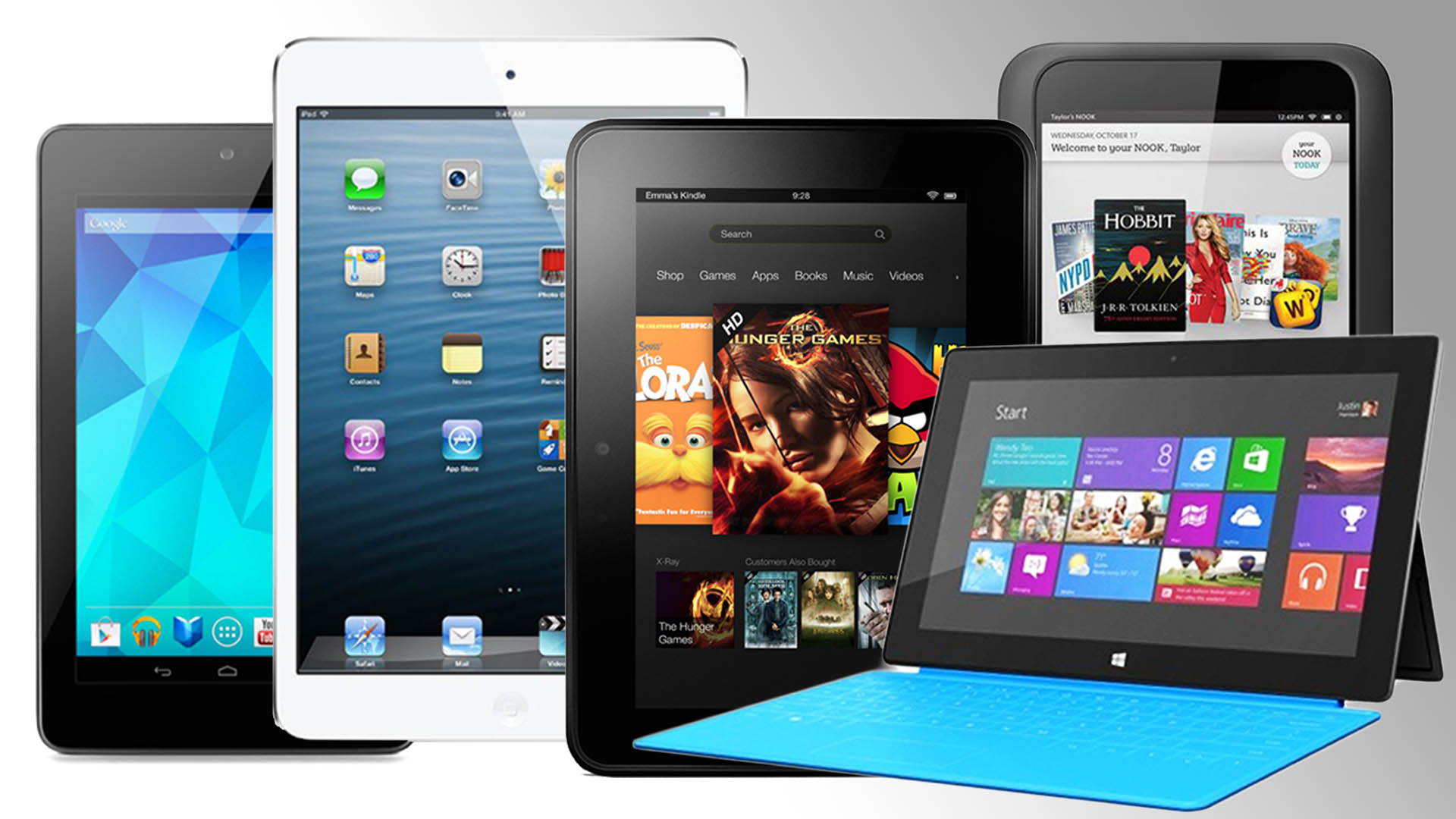 Which Tablet Do You Want This Holiday Season?