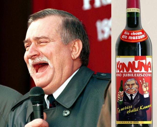 Znalezione obrazy dla zapytania głupkowaty Wałęsa