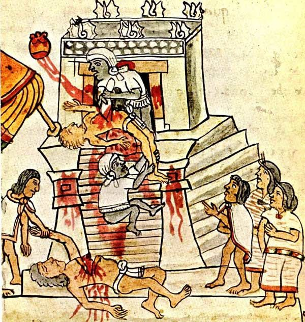 7 Shocking Sacrificing Rituals That Existed Around The World