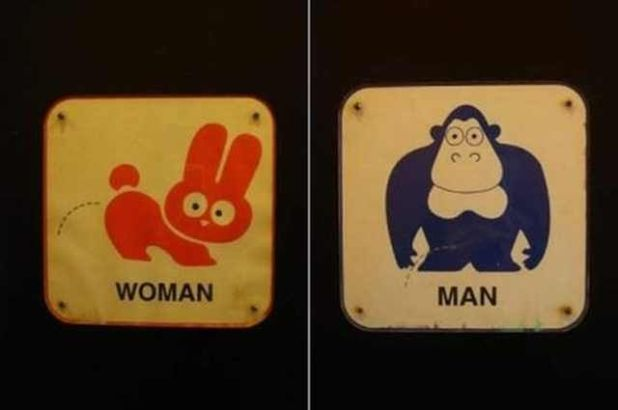Funniest Bathroom Signs You Rarely Come Across