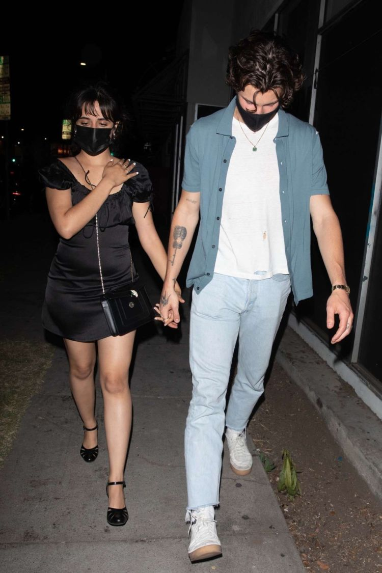 Camila Cabello Goes Out For Dinner In Los Angeles