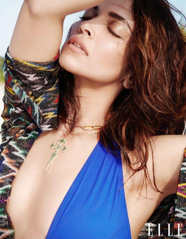 Deepika Padukone's Mind Blowing Photoshoot For Elle Magazine