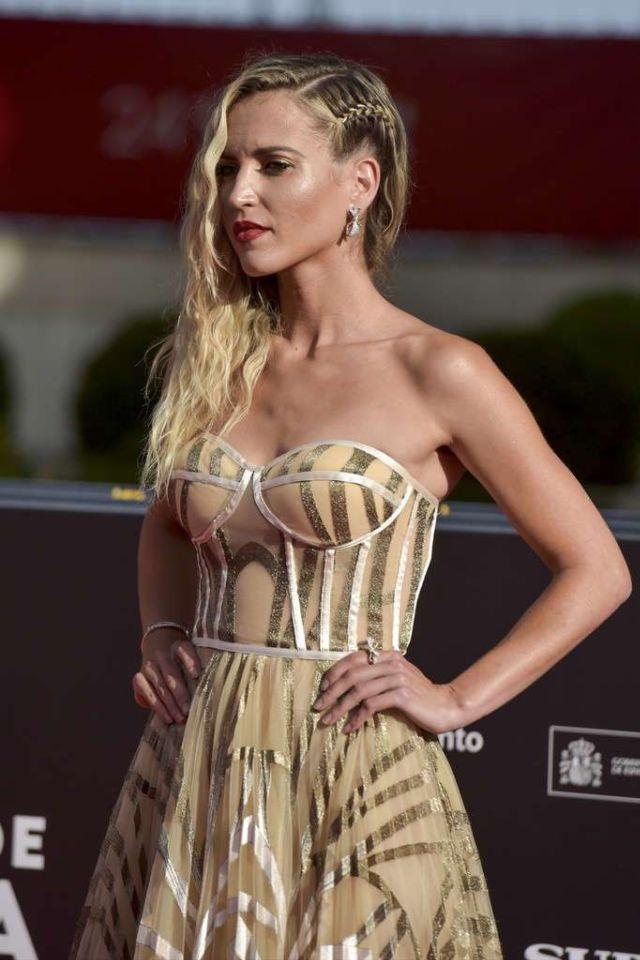 Gorgeous Ana Fernandez Attends 'Garcia Y Garcia' Premiere At Malaga Film Festival
