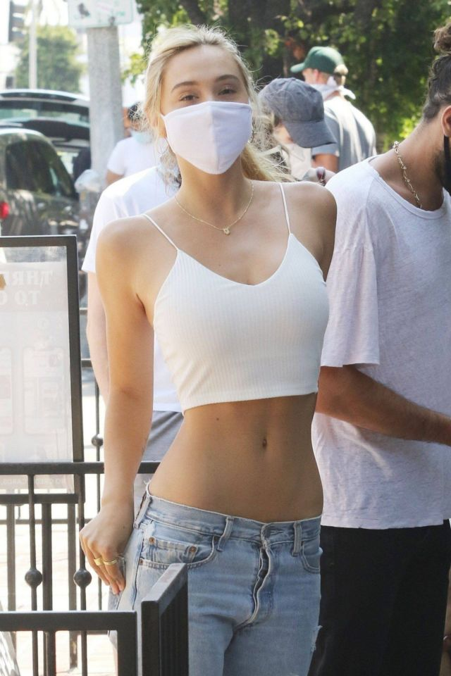 Pretty Alexis Ren Spotted In Jeans, Out In LA