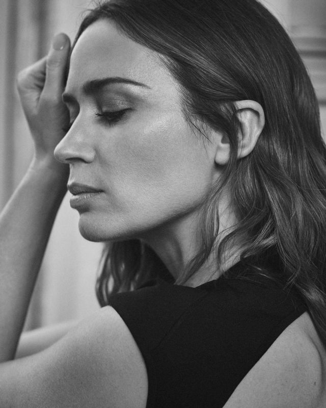 Gorgeous Emily Blunt Featured In The Sunday Times 2021
