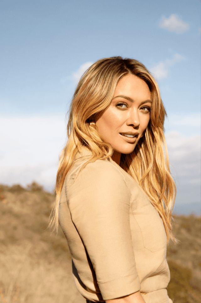 Hilary Duff Shoots For Cosmopolitan UK Magazine