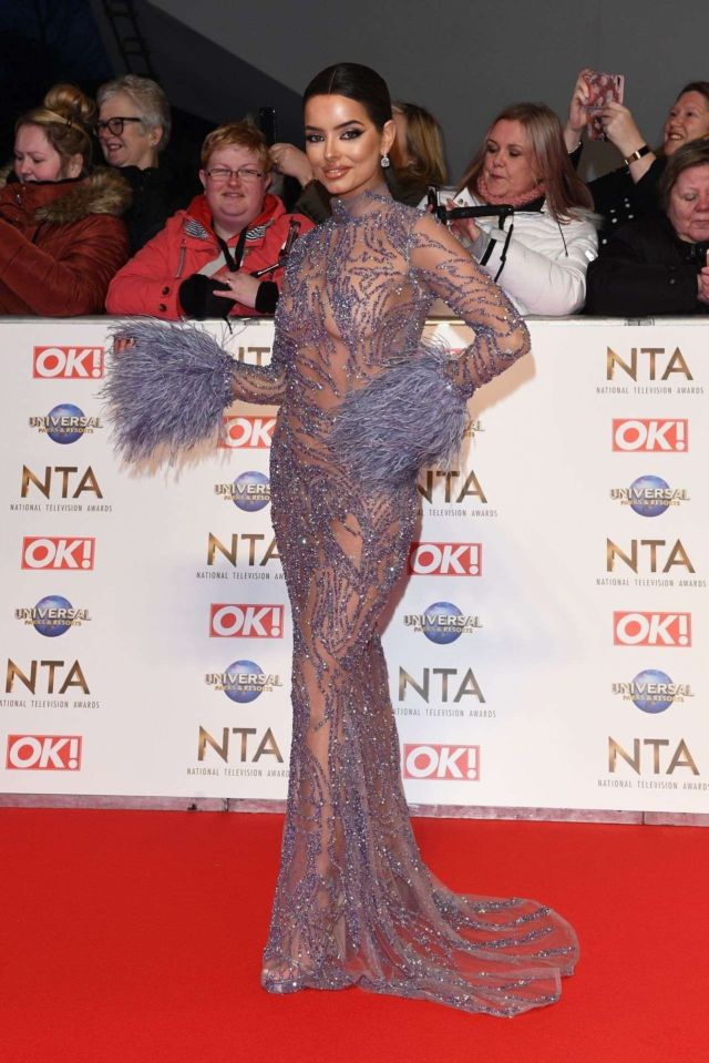 Maura Higgins Turned Heads At The National Television Awards 2020