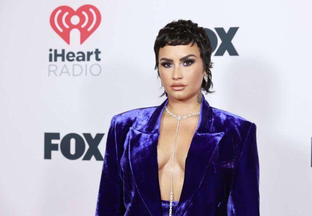 Demi Lovato Attends 2021 iHeartRadio Music Awards