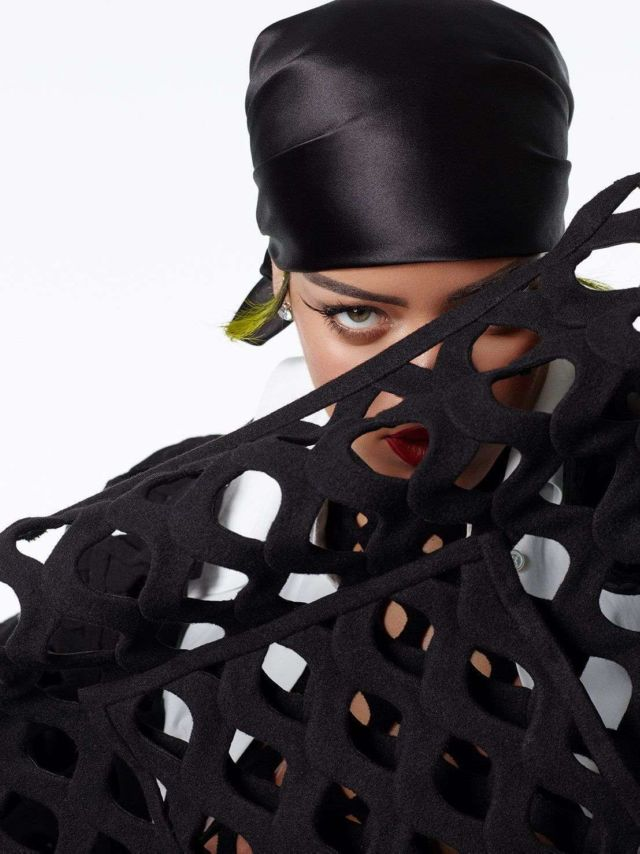 Rihanna In A Special Photoshoot For Vogue Italia Magazine 2021