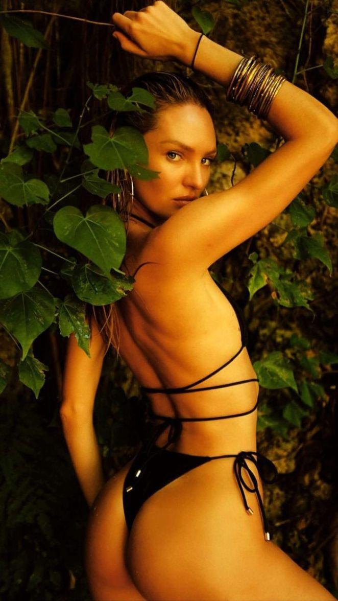 Candice Swanepoel In Black Tropic Of C Swimsuit Photoshoot 2020
