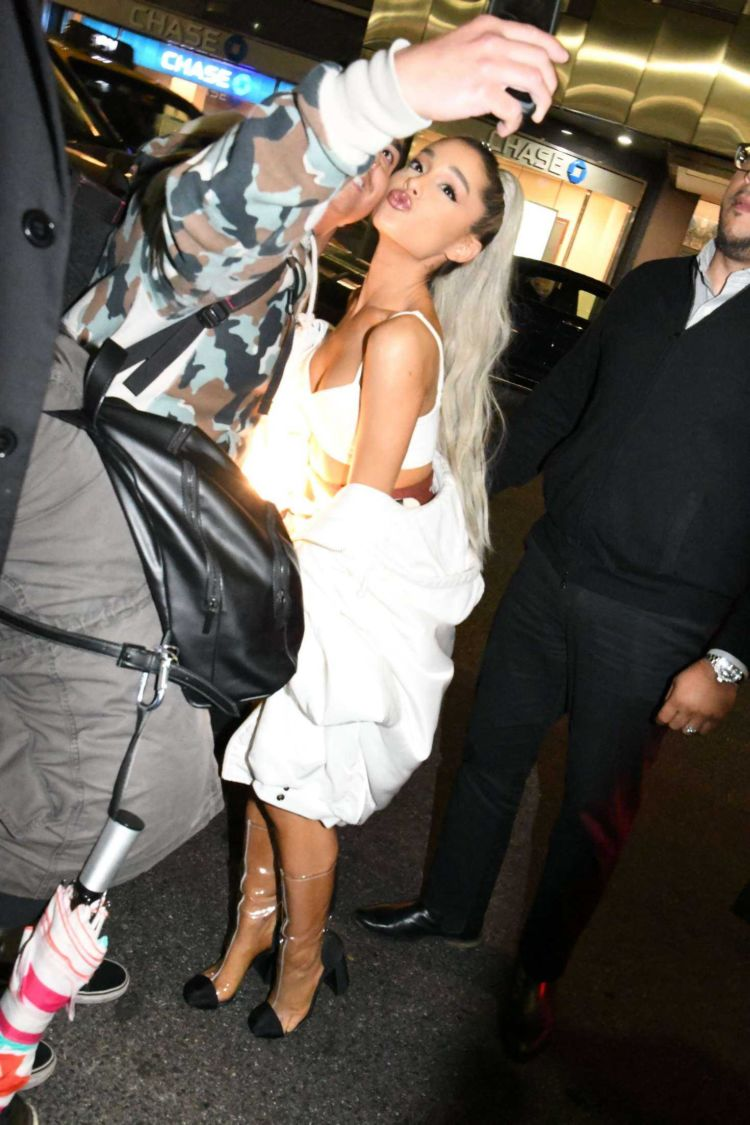 Ariana Grande At The Saturday Night Live After Party