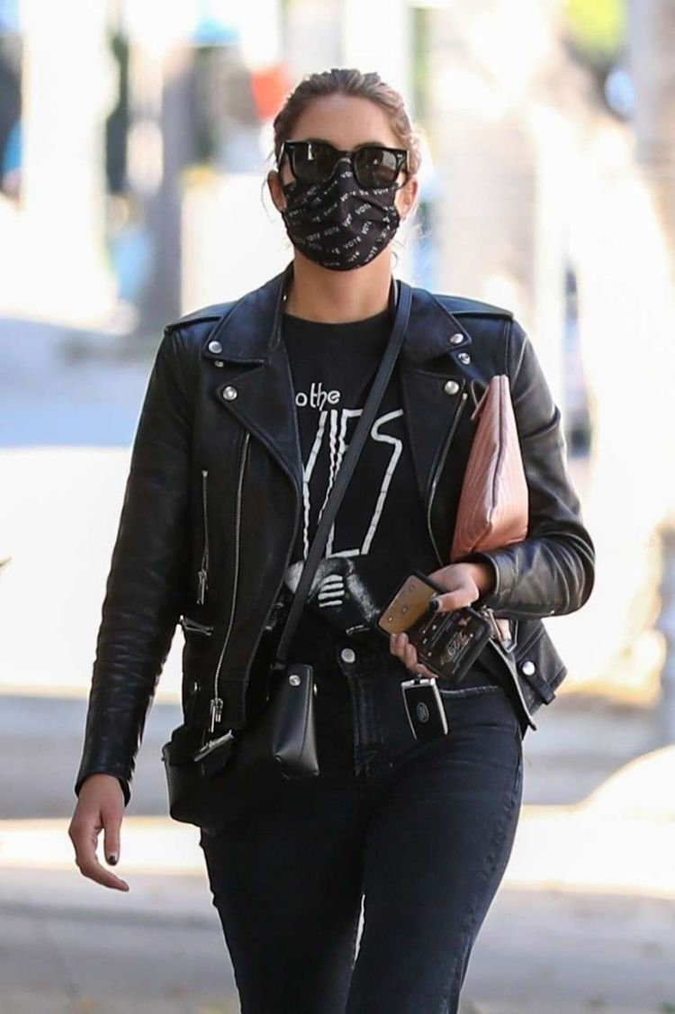 Ashley Benson Out And About Candids In Los Angeles