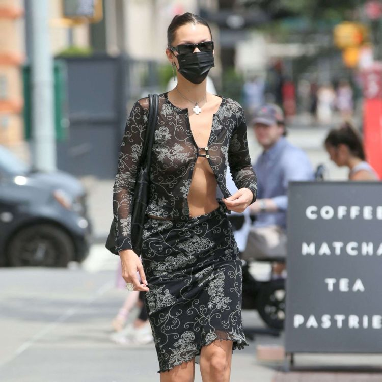 Stunning Bella Hadid Spotted Out In New York