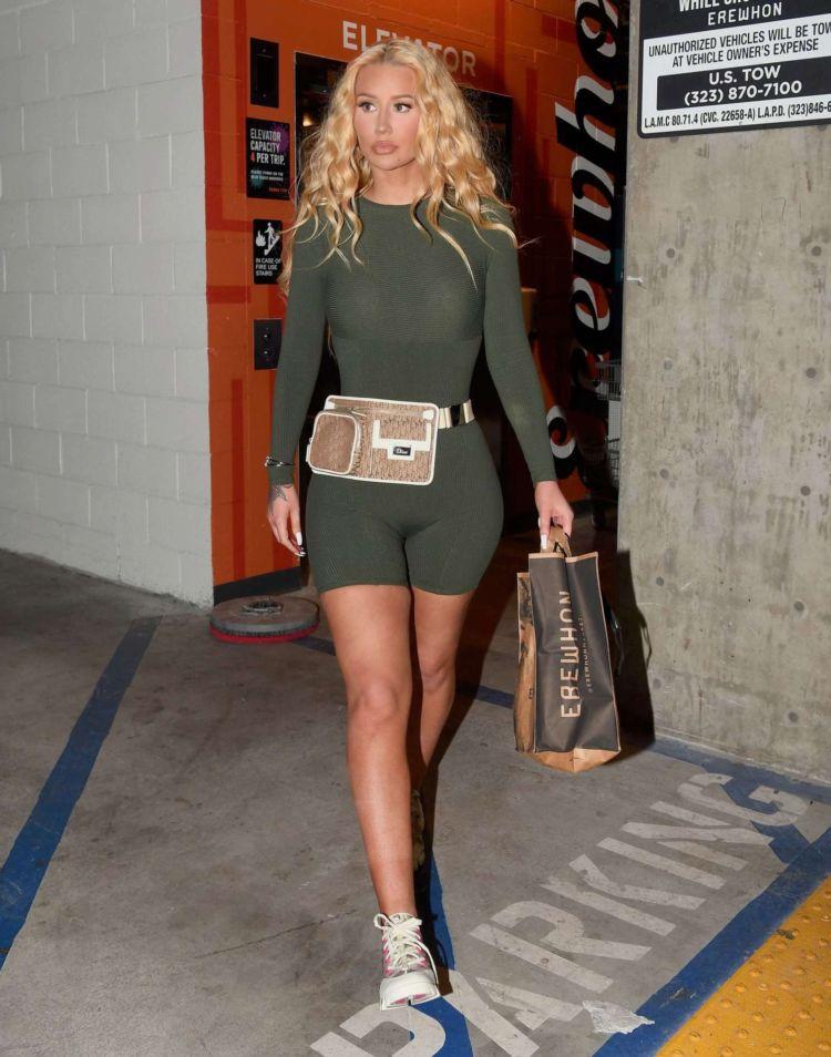 Iggy Azalea Candids In A Bodysuit Out in Los Angeles