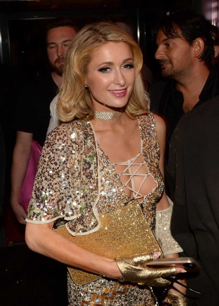 Paris Hilton In The VIP Room At The Cannes Film Festival 2018