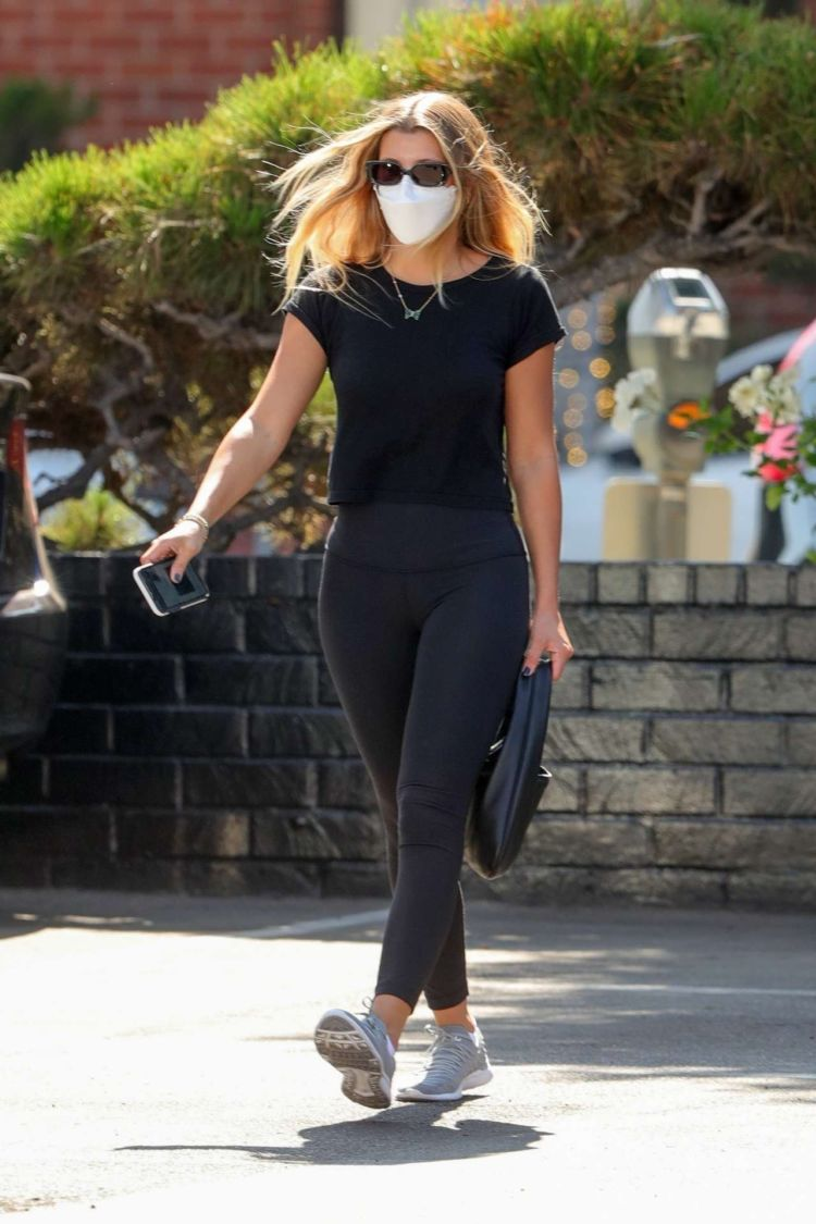 Sofia Richie Candids Outside XIV Karats In Beverly Hills