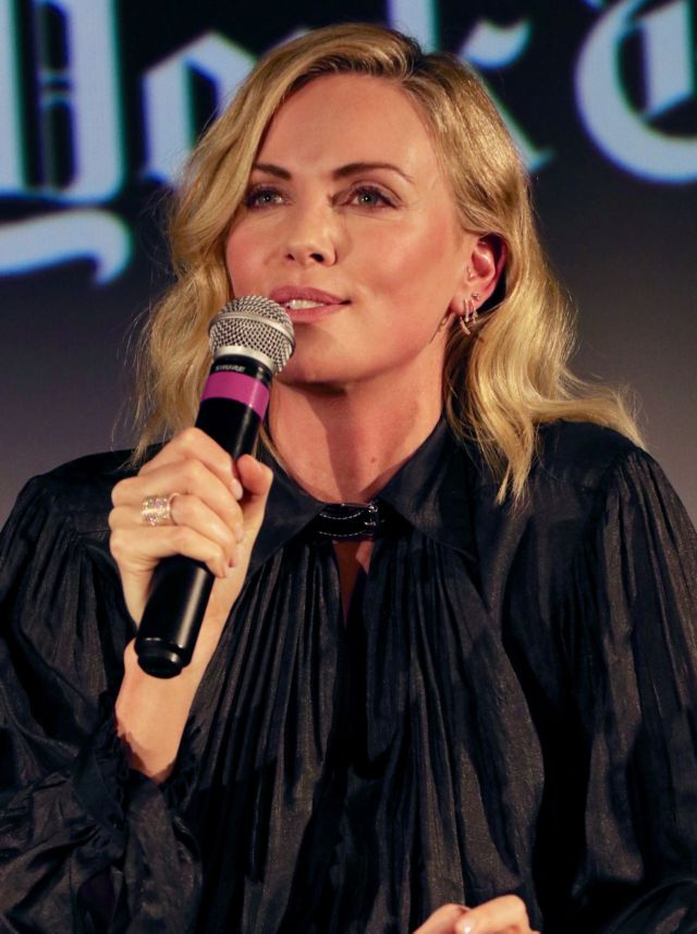 Charlize Theron At The TimesTalks ScreenTimes Presents Tully