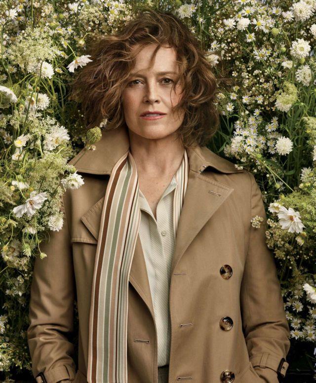 Sigourney Weaver Poses For Craig McDean Photoshoot