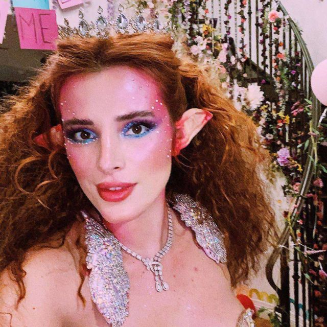 Bella Thorne Poses For Fairy Sisters Photoshoot