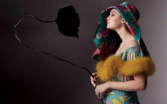 Gigi Hadid Shoots For Vogue Magazine USA 2021