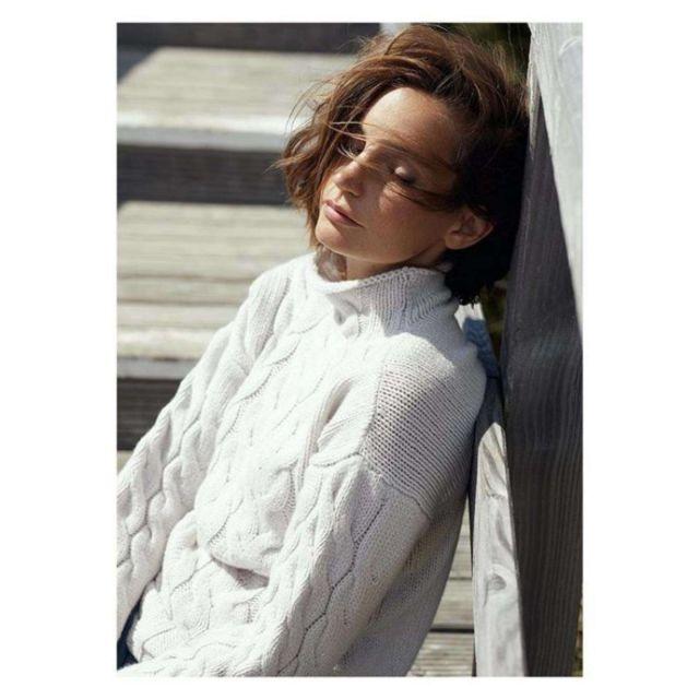 Janina Schiedlofsky Poses For Incentive Cashmere Photoshoot
