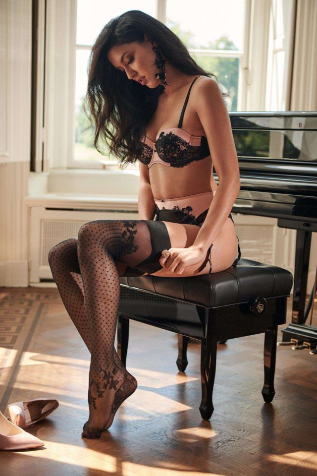 German Model Rebecca Mir's Awesome Lingerie Photoshoot